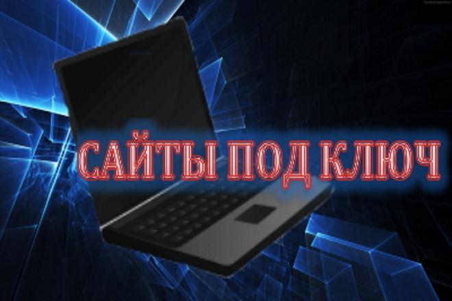 Сайт под ключ. Landing Page 4 - kwork.ru