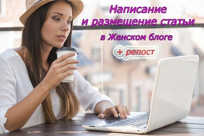 Написание+размещение статьи с вечными ссылками+репост 1 - kwork.ru