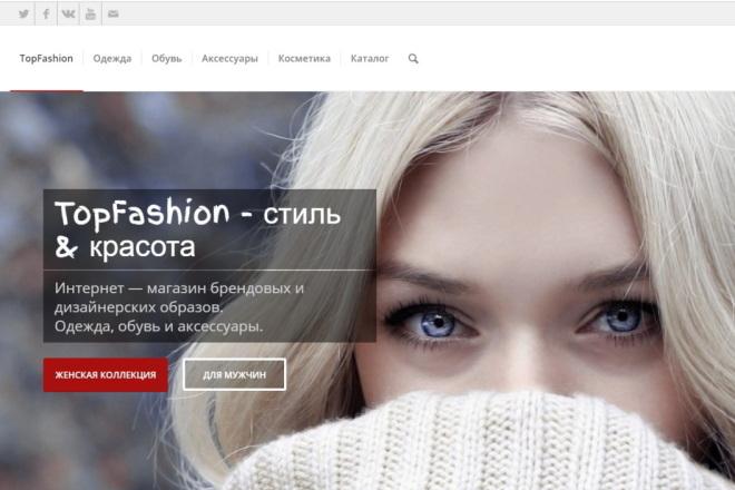 Перспективный, готовый интернет - магазин 1 - kwork.ru