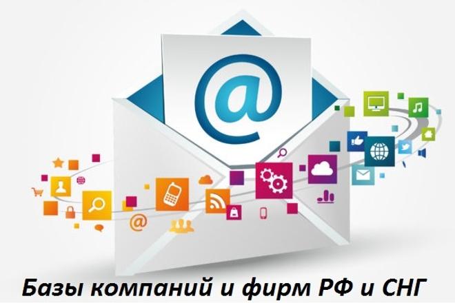 Соберу базу компаний и фирм РФ или СНГ по направлениям деятельности 1 - kwork.ru