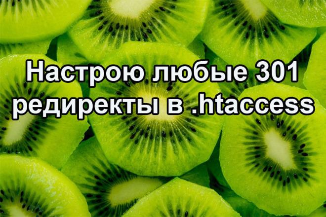 Настрою любые 301 и другие редиректы на сайте в . htaccess 1 - kwork.ru