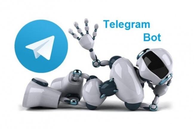 Создам Бот для Телеграм с панелью управления 1 - kwork.ru