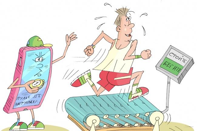 Оперативно нарисую юмористические иллюстрации для рекламной статьи 103 - kwork.ru