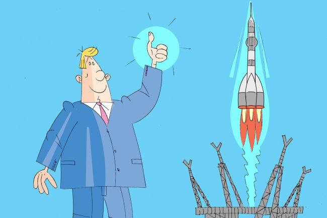 Оперативно нарисую юмористические иллюстрации для рекламной статьи 104 - kwork.ru