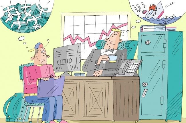 Оперативно нарисую юмористические иллюстрации для рекламной статьи 106 - kwork.ru