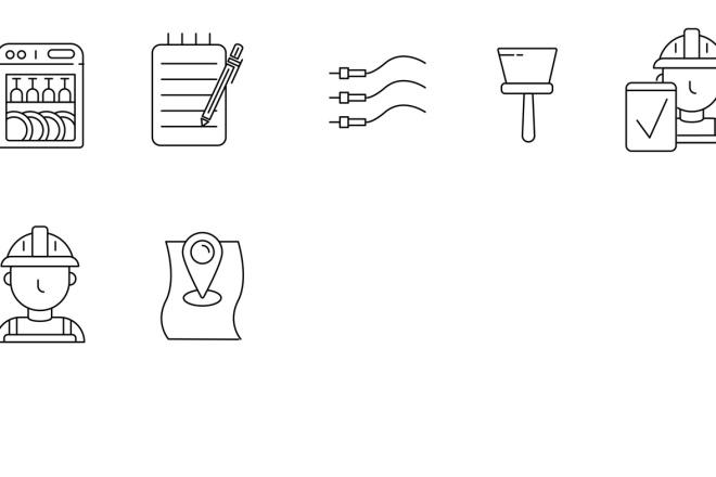 Нарисую векторные иконки для сайта, соц. сетей, приложения 18 - kwork.ru