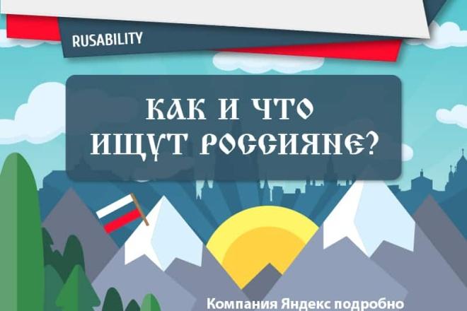 Инфографика с уникальным дизайном 8 - kwork.ru