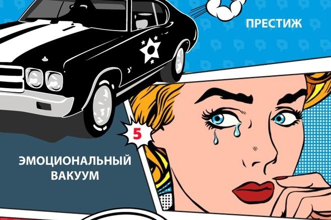 Инфографика с уникальным дизайном 10 - kwork.ru