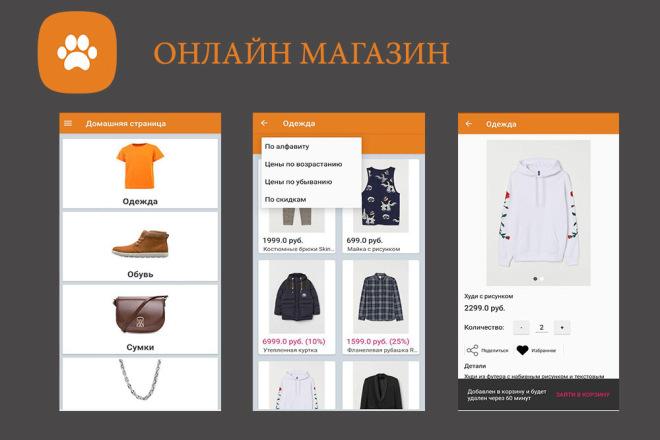 Создание мобильного приложения с сервером для вашего бизнеса 7 - kwork.ru