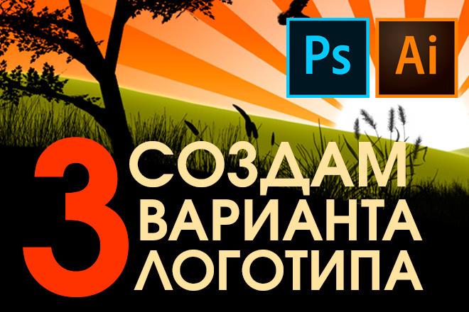 Доработка логотипа, 3 варианта 6 - kwork.ru