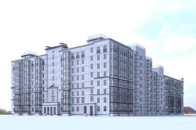 Архитектурное 3d моделирование 23 - kwork.ru