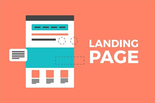 Продающий landing page под ключ с продвижением 10 - kwork.ru