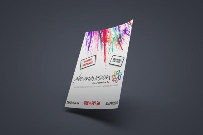 Дизайн плакатов, афиш, постеров 12 - kwork.ru