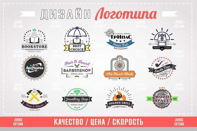 Дизайн логотипа по Вашим пожеланиям 4 - kwork.ru
