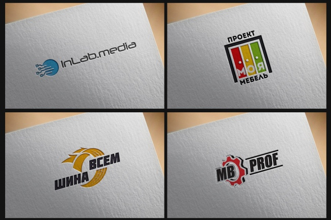 Создам современный логотип 101 - kwork.ru