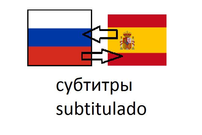 Перевод с испанского на русский и обратно, аудио, видео, субтитры 1 - kwork.ru