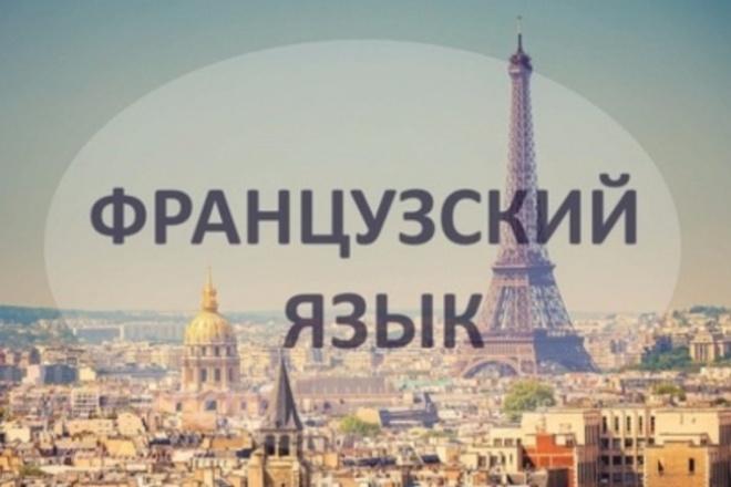 Обучаю французскому языку 1 - kwork.ru