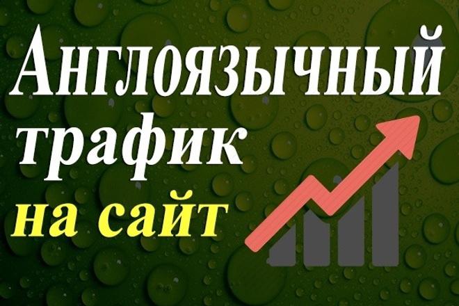 Англоязычные посетители от 60 до 100 в сутки в течение 20 дней 1 - kwork.ru