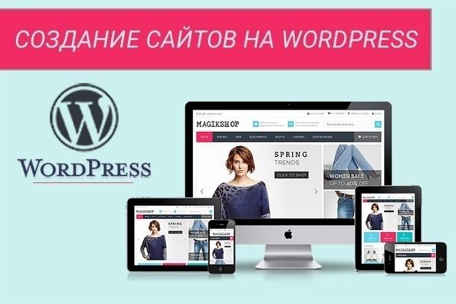 Создание сайта пошагово на wordpress размещение ссылок на страницы вк