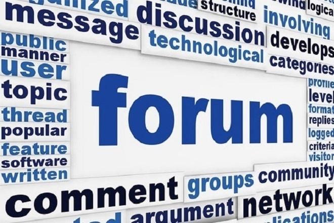 База форумов RU + Запад 400000 ссылок 1 - kwork.ru