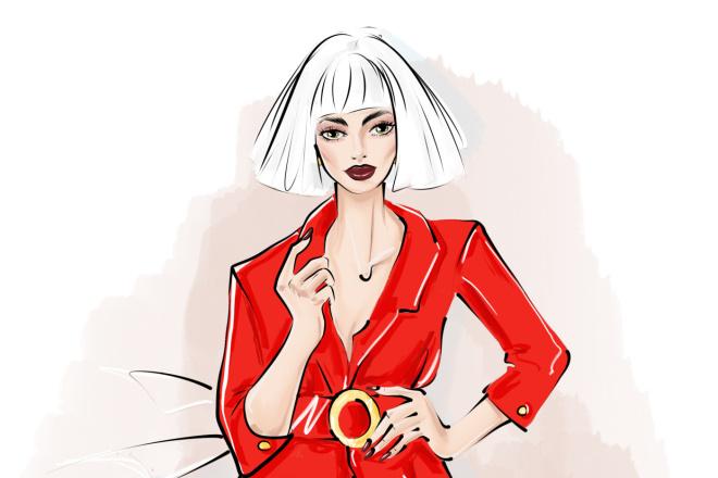 Создам fashion иллюстрацию 22 - kwork.ru
