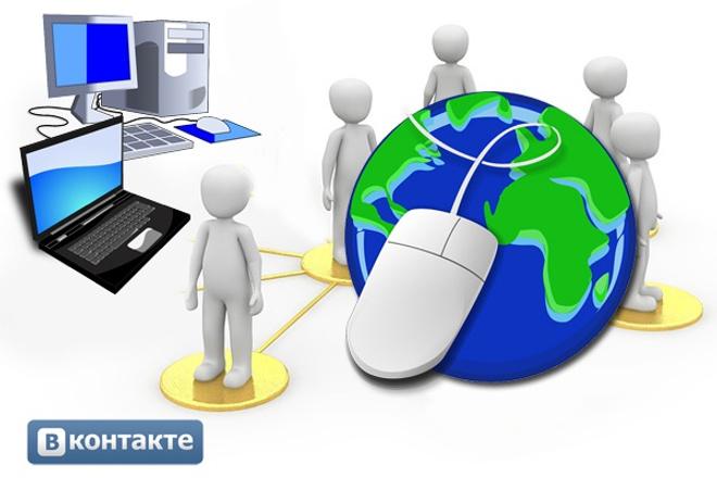 Администратор, ведение группы ВКонтакте 1 - kwork.ru