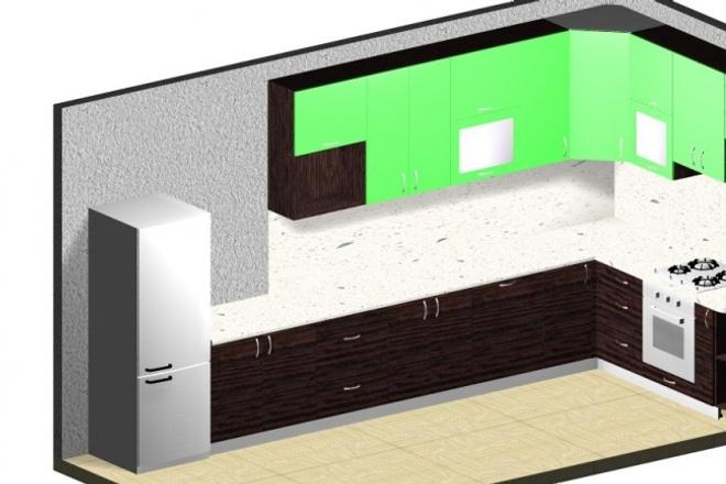 Разработаю комплект чертежей на корпусную мебель