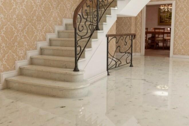 Выполню 3D визуализацию интерьера квартиры, дома, офисного помещения 14 - kwork.ru