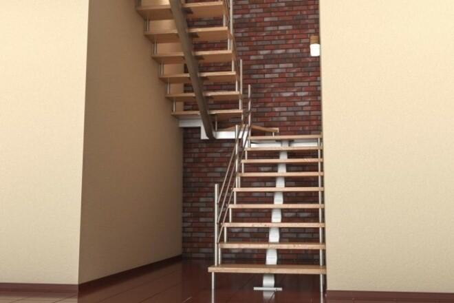 Выполню 3D визуализацию интерьера квартиры, дома, офисного помещения 15 - kwork.ru