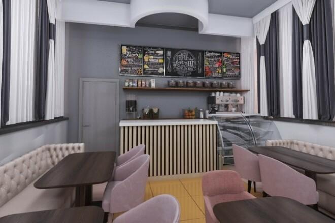 Выполню 3D визуализацию интерьера квартиры, дома, офисного помещения 16 - kwork.ru