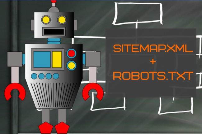Идеальный sitemap и robots.txt для Вашего сайта 1 - kwork.ru