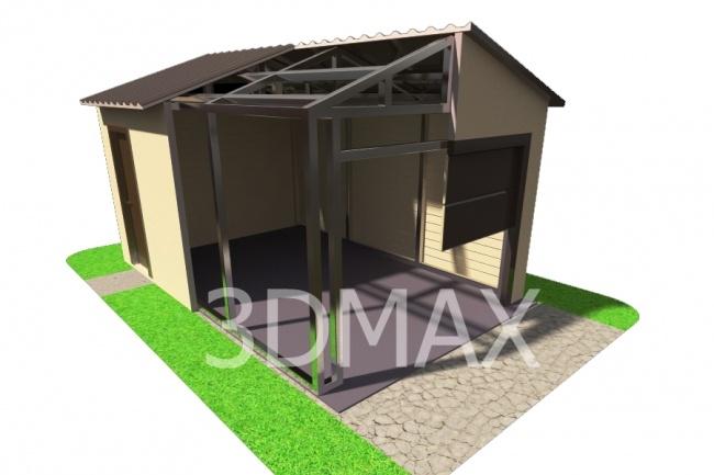 Сделаю 3D модель, текстурирование и визуализацию 154 - kwork.ru