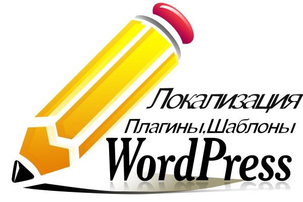 Локализация темы, шаблона WP, плагина 1 - kwork.ru