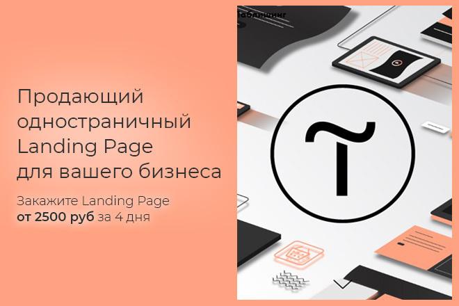 Продающий одностраничный Landing Page на Тilda 7 - kwork.ru
