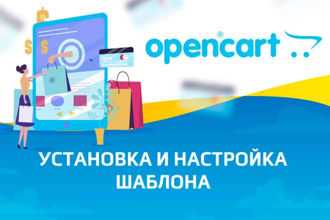 Качественная установка и настройка шаблона-темы на CMS Opencart 1 - kwork.ru