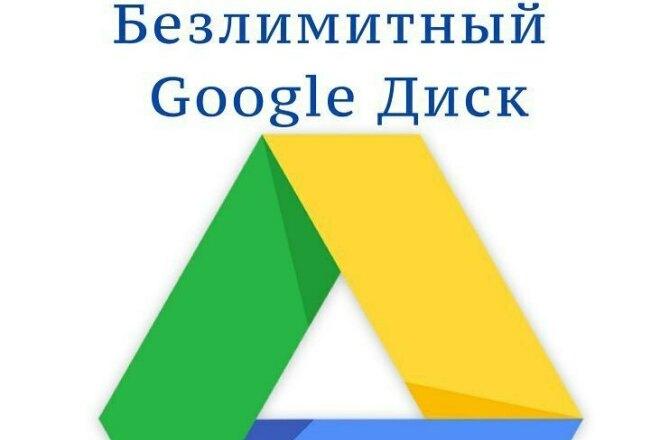 Безлимитный Google Drive для вашего аккаунта фото