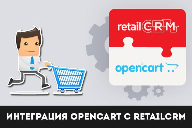 Интеграция Opencart с retailCRM 1 - kwork.ru