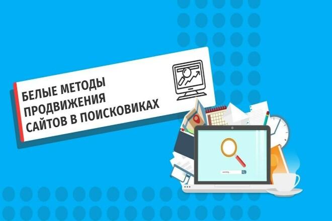 Seo Продвижение вашего сайта в топ 10 1 - kwork.ru