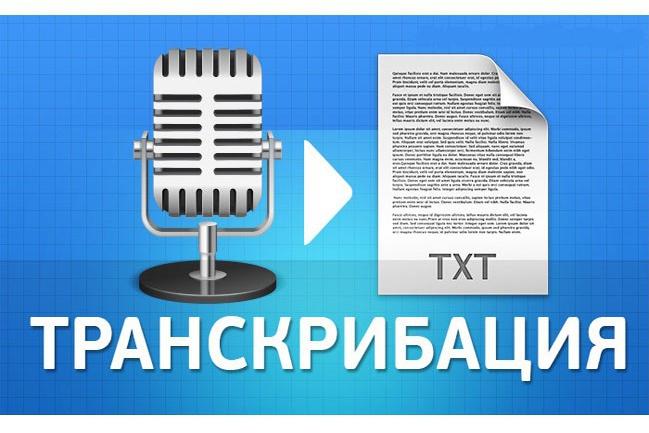 Перевод аудио в текст, расшифровка аудиозаписей, транскрибация 1 - kwork.ru
