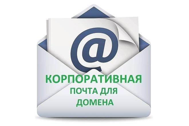 Регистрация почт на своём домене 1 - kwork.ru