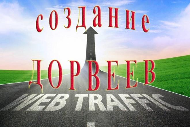 Создание дорвеев для привлечения трафика 1 - kwork.ru