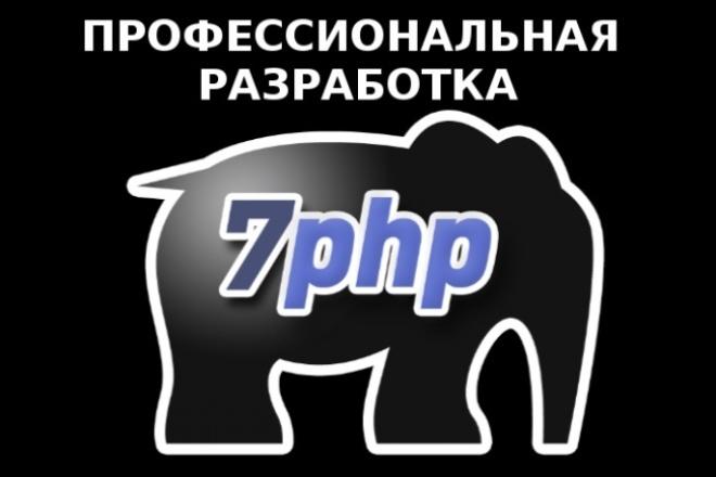 PHP скрипт. Профессионально, быстро, небольшие скрипты 1 - kwork.ru