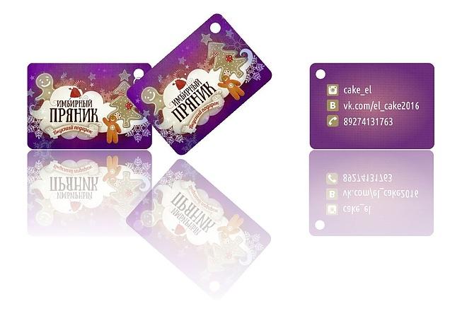 2 варианта визитки в исходнике 17 - kwork.ru