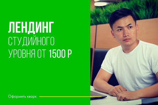 Сделаю классный Лендинг на Elementor Pro 39 - kwork.ru