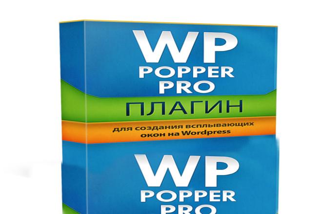 Плагин для создания всплывающих окон на WordPress WP Popper Pro 1 - kwork.ru