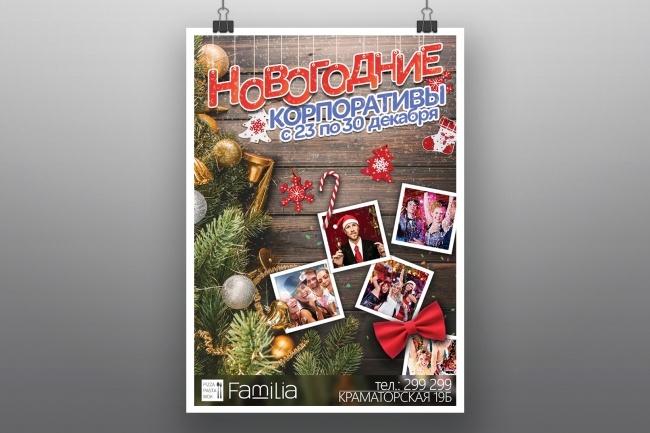 Разработка афиш, постеров, плакатов 10 - kwork.ru