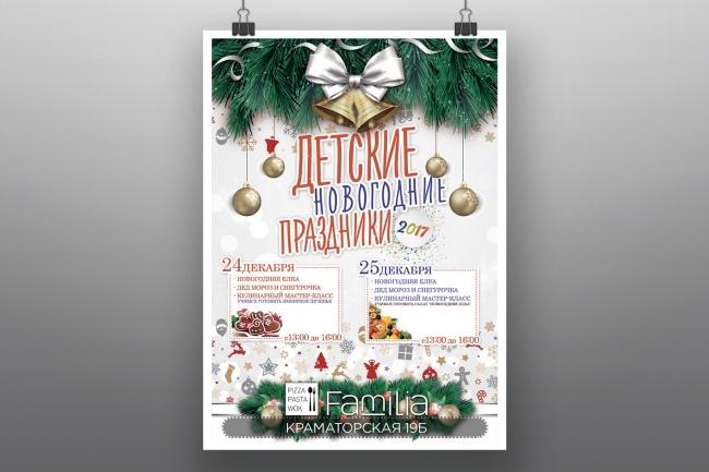Разработка афиш, постеров, плакатов 12 - kwork.ru