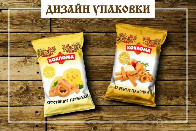 Дизайн упаковки или этикетки 70 - kwork.ru