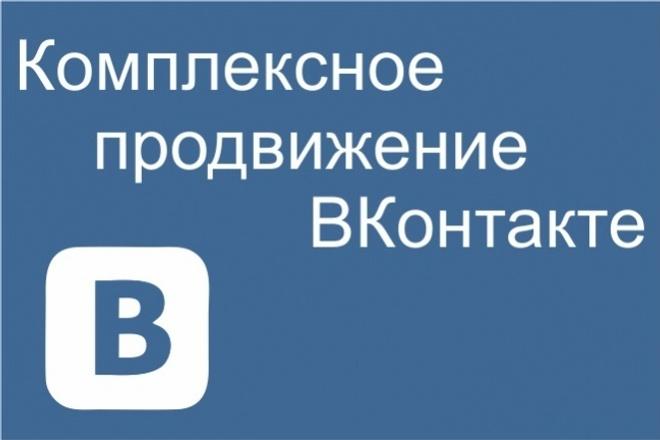 Активность группы ВК, лайки, репосты, просмотры, уникальные посетители 1 - kwork.ru