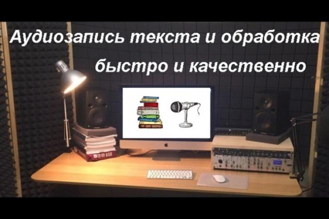 Начитаю текст в микрофон 3 - kwork.ru
